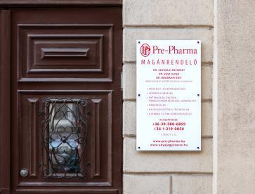 Pre- Pharma bőrgyógyászati magánrendelő kapu