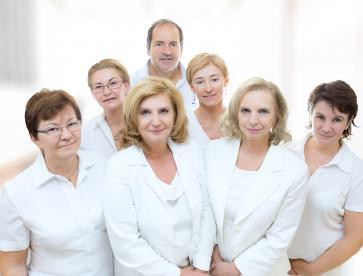A bőrgyógyászat munkatársai