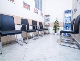 Bőrgyógyászati magánrendelőnk várója